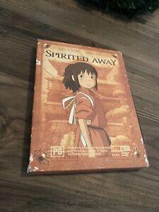 Spirited Away - Limited Edition (DVD, 2001, 2-Disc Set) Hayao Miyazaki Region 4