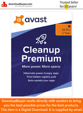 Avast Cleanup Premium for Windows 2020 - 10 Device - 1 Year [Digital Download]