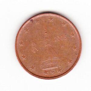 Pièce de monnaie 2 cent centimes euroItalie 2005