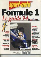 SPORT AUTO Hors Série  F1 1994