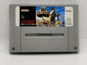Super Nintendo SNES - King of the Monsters (Modul)