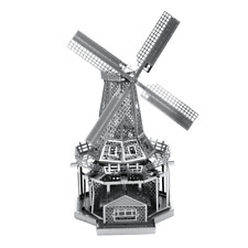 Metal Earth Fascinations Famous Architecture Metal Puzzle, laser cut models