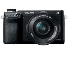 Sony Alpha NEX-6L/B Mirrorless Digital Camera with 16-50mm Power Zoom Lens