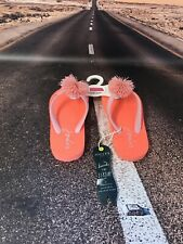 Joules Infant Flip Flops. Size 9 Uk. With Tags.