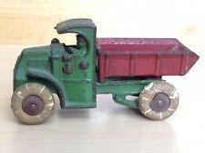 "Hubley Cast Iron Mack C-Cab Dump Truck 5"" Original 1930s"