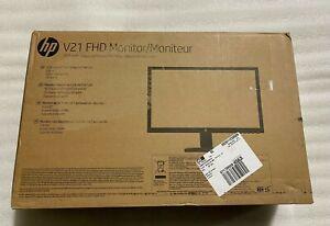 """HP V21 20.7"""" FHD TN LCD Monitor - Black"""