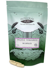 Fenugreek (Veggie) Capsules | Organic Certified | 550mg Capsules