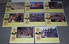 EL CONDOR original 1970 lobby card set LEE VAN CLEEF/JIM BROWN/MARIANA HILL