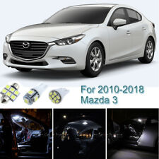 7pcs White Interior LED Light Package Kit For 2010-2018 Mazda 3 Sedan Hatchback