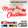 Merry Christmas Vinyl Decal Sticker for Wall/Window, Any Smooth Surface Outdoor