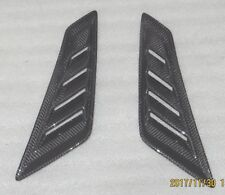 Real Fibra Carbono guardabarros delantero AIRE Scoop Ventilación Ajuste Honda