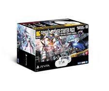 NEW SONY PS Vita PCHL-60001 GUNDAM BREAKER Wi-fi Limited Model Bundle Game