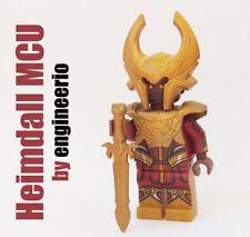LEGO Custom - Heimdall MCU - Marvel Super heroes thor minifigures