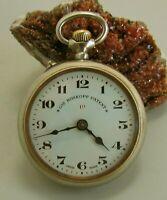 Reloj Suizo de Bolsillo GRE. ROSKOPF PATENT. Decada 1920. Funciona Bien.