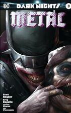 BATMAN DARK NIGHTS: METAL #3 Francesco Mattina Foil Variant(limited to 3000)