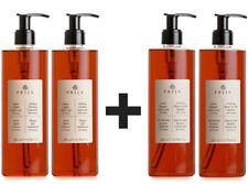 Prija Flüssigseife 2x + Duschgel 2x mit Ginseng Duschgel Haarshampoo Seife 380ml