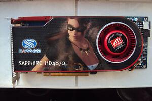 Sapphire Radeon HD4870 Graphics Card