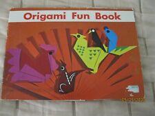 Vintage NEW 1968 Japanese Origami Book Tatsuo Miyawaki with Paper ~*~*~*~*~*