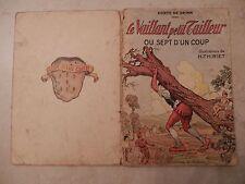 Livre ancien pour enfants . Conte de Grimm  .1948