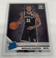 2019-20 Nicolas Claxton Nic Panini Optic  #171 RC Rookie NETS
