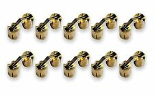 Actopus 10PCS Cylindrical 10mm M10 Brass Barrel Invisible Furniture Hinge Con...