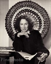 1977/83 Vintage MARGARET ATWOOD Canada Novelist Poet Photo By YOUSUF KARSH 11x14