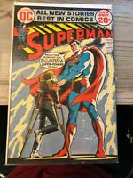 Superman (1939 series) #254 in Fine + condition. DC comics FREE SHIPPING!