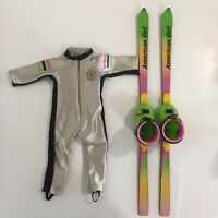 Pleasant Company American Girl Doll Downhill Ski Outfit + Gear Retired