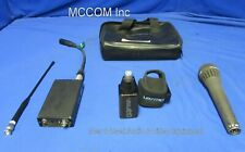 Lectrosonics UCR190 UHF Wireless Receiver & UH190 UHF Transmitter  Freq 556.900