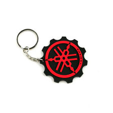 Motorcycle Rubber Keyring Keychain Key Chain Key Ring For Yamaha Gift Cool Red