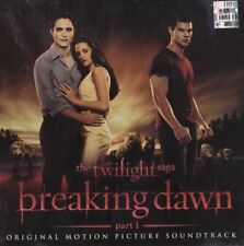 OST TWILIGHT SAGA BREAKING DAWN PART 1 OFFICIAL SOUNDTRACK CD NEW