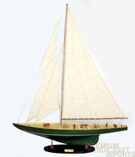 """32"""" Shamrock Sailboat Model Irish Green"""