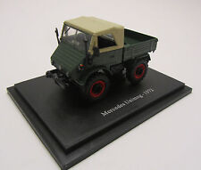 Unimog 411 1972/Modèle/vert/tracteur/NEUFS/1:43/NEUF dans blister
