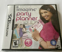 Imagine: Party Planner Nintendo DS Video Game New Factory Sealed