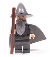 LEGO Herr der Ringe Hobbit - Figur Gandalf mit Umhang und Stab / dim001 NEUWARE