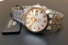 Orient Classic Dress Watch Automatic Stainless Steel Silver Dial FREE US SHIP