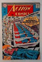 Action Comics #344 DC 1966 FN- Comic Book Superman's Nightmare Dreams Batman