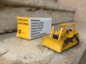 Tracteur chaines chenilles CATERPILLAR CAT D6H CONRAD ref 2851 1/50 KETTENDOZER