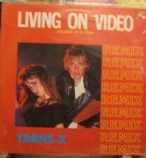 """Trans X Living On Video (Bailando En El Video) Mex 12"""""""