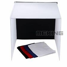 Meking 40cm Photo Studio Photography Light Tent Backdrop Kit Cube Lighting Box