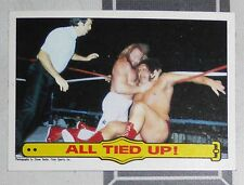 Big John Studd Andre the Giant WWF 1985 Topps Card #27 WWE Pro Wrestling Legend