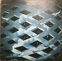 THE WHO Tommy DOUBLE LP VG/VG 2657 002, with Lyric Booklet, Vinyl, Album, UK