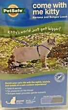 Come With Me Kitty Harness & Bungee Leash~Med up 20lbs- Royal Blue/Navy