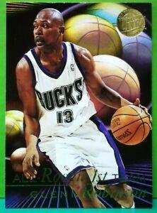 Glenn Robinson insert card All-Rookie Gold Medallion 1995-96 Fleer Ultra #5