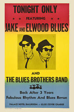 Soul Man: Jake & Elwood Blues Brothers:  Concert Poster 1980  12x18