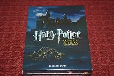 Harry Potter: Complete 8-Film Collection (DVD, 2011, 8-Disc Set) *Brand New*