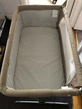 Chicco 'Next To me' Bedside Crib with mattress, cream