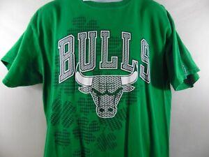 Unk Chicago Bulls St. Patricks Day T-shirt Size XL