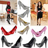 Unisex  Drag Queen Crossdresser High Heel Platform Court Shoe Sizes 3  to 12 UK