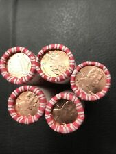 String FREE PRIORITY SHIPPING 10 Rolls 2019 P BU Lincoln Cents Pennies N.F